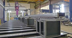 CNC Fräsen Traverse 12.500mm Länge