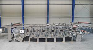 Bild zeigt eine Waschanlage für die Textilindustrie