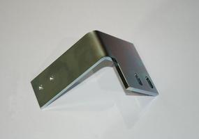 Laserzuschnitt Winkel aus Edelstahl