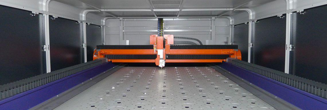 Laserbearbeitung Laserschneidanlage