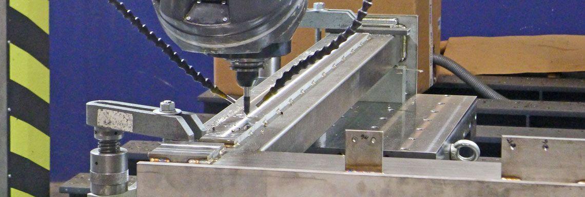 Edelstahlbearbeitung CNC-Fräsen