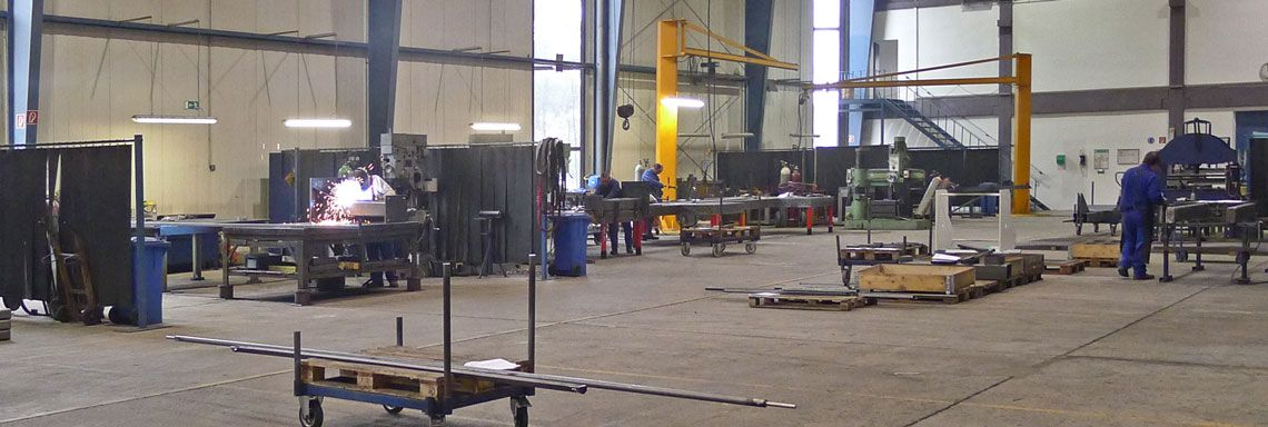 Stahlbau Übersicht Schweisserei