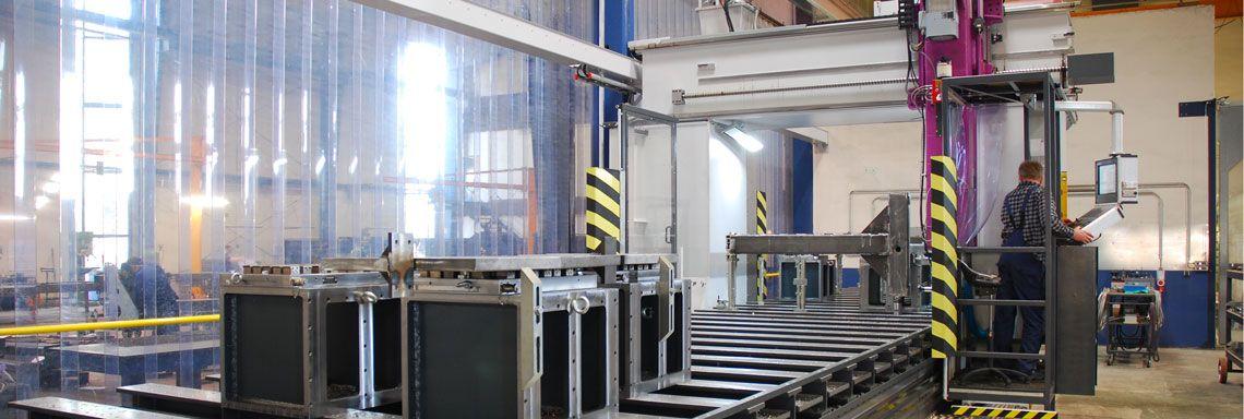 CNC-Fräsen auf Gantrymaschine