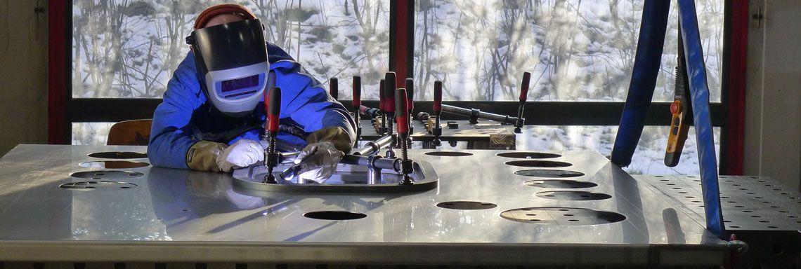 Schweisskonstruktionen Edelsstahlschweisser