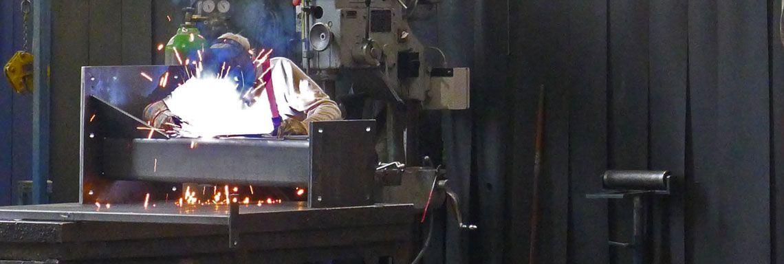Stahlbau Schweissen