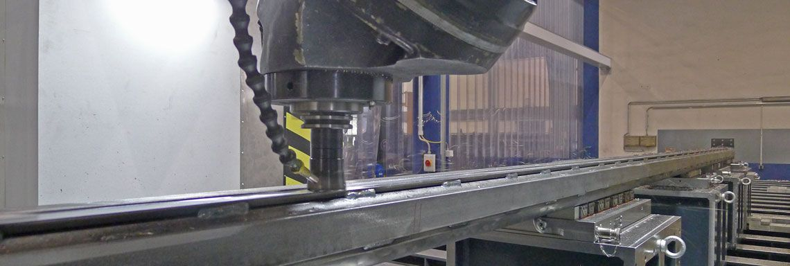 Stahlbau mechanische Bearbeitung
