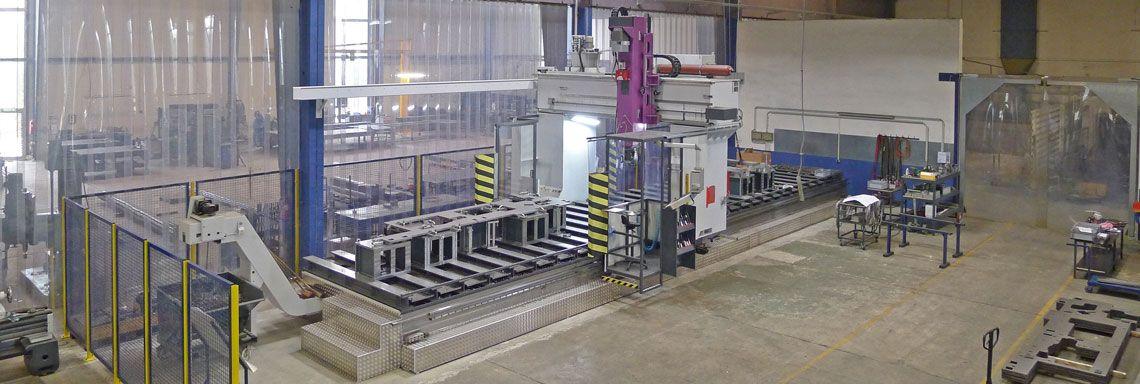 CNC Bearbeitung Schweisskonstruktionen