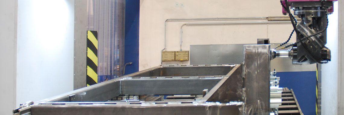 CNC-Bearbeitung Schweißkonstruktionen auf Portal