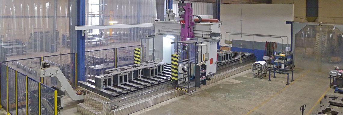 CNC-Fräse im Metallbau